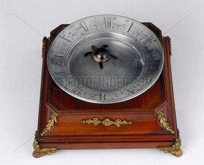 'Tortoise' clock  probably 19th century.