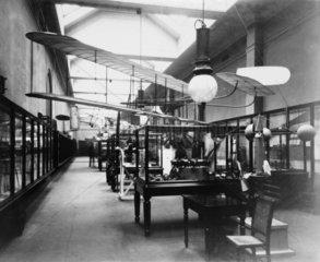 Aeronautical exhibition  Science Museum  London  1912.