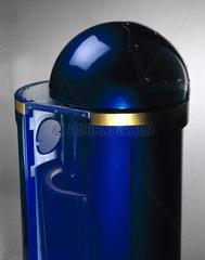 Blast-proof bin  2001.