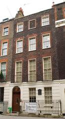 Benjamin Franklin's House  London  2006.