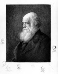 Charles Darwin  English naturalist  c 1860s.