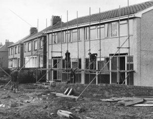Plastic houses  January 1966.