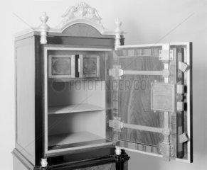 Iron safe  c 1880.