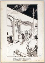 'Rail strike call'  c 1953.