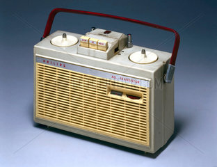 Philips 'All Transistor'  reel-to-reel tape recorder  c 1960.