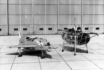 'Flying Bedstead' and the Short SC1 VTOL research aircraft  1950s.