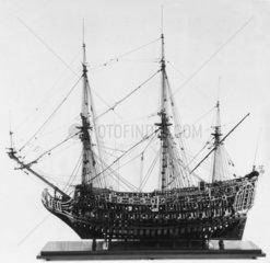 HMS 'Loyal London'  1666.