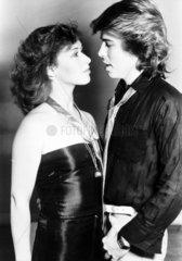 Theresa Bazar and David van Day  October 1978.