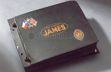 Photograph album of the James Cycle Co Ltd  1940s.