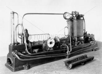 Parson's original Steam Turbine generator  1884.