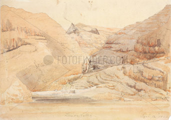 Rock formations at Lemon Valley  St Helena  South Atlantic  12 January  1830.