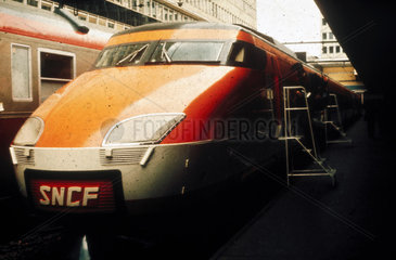 SNCF train  France  c 1980s.