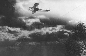 Amy Johnson  British aviator  13 May 1930.