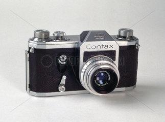 Contax single lens reflex camera  c 1950s.