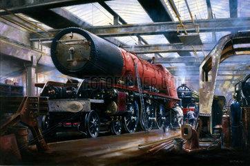 The Duchess of Hamilton - Steam Power Preserved'  1989.