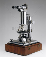 Rife's prismatic compound microscope No 5  1938.