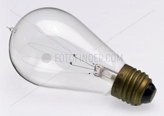 Carbon filament lamp  1890-1920.