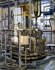 The production of insulin by fermentation  1986.