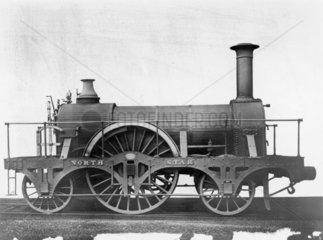 'North Star' steam locomotive  c 1900s.