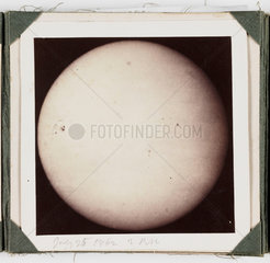The Sun  taken at 2pm  25 July 1862.