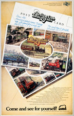 'The Great Little Trains of Wales - Come and See for Yourself!'  c 1980s.