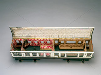 Queen Victoria's LNWR Royal Day Saloon. Mod