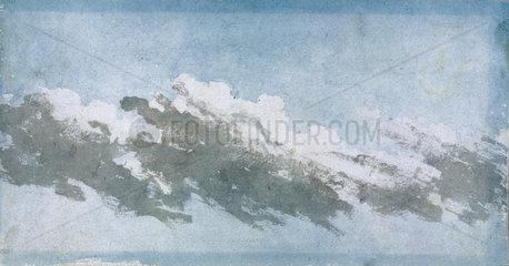 Cumulus blowing in high wind  c 1803.