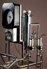 Lande Edwards disposable membrane oxygenator  1970.