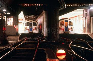 Waterloo Station  Waterloo and City Line.