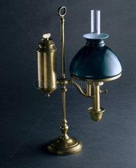 'Student' lamp  c 1830.