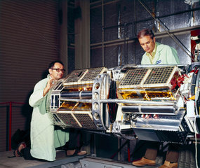 The Meteoroid Technology Satellite  1972.