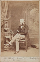 William Allen Miller  British chemist  c 1860s.