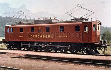 1-E-1 2500 hp electric locomotive series Be