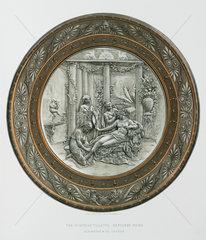 'The Pompeian Toilette'  1876.