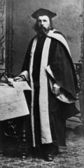 Dmitry Ivanovich Mendeleyev  Russian chemist  c 1860s.