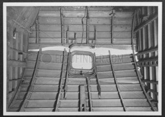 Interior of de Havilland Comet  c 1950s.