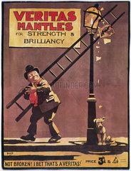 Advertisement for Veritas Mantles  showing