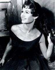 Brigitte Bardot  French actress  1 February 1955.