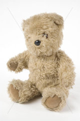 'Little Ted'  toy from BBC TV's 'Play School'  c 1970s.