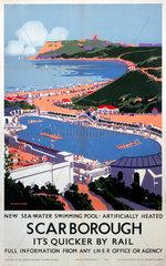 'Scarborough'  LNER poster  1939.