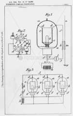 First wireless detector to use a thermionic valve  1904.
