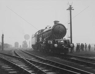 'King George V' steam locomotive  1934.
