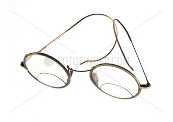Coil spring spectacles  1930-1940.
