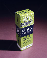 'Good Morning' lung tonic  late 20th century.