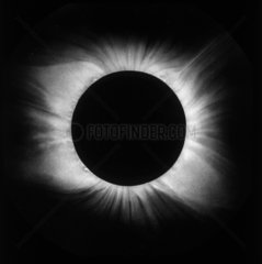 Solar eclipse  1898.