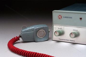 Pye Cambridge mobile radio telephone set  c 1960s.