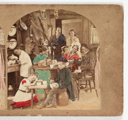 'The Cotter's Saturday Night'  c 1885.
