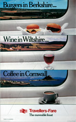 'Travellers-Fare...'  BR (CPU) poster  1980.