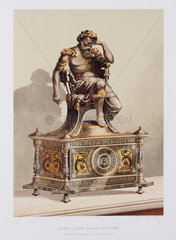 Mantel clock  Spanish  1876.