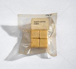 Sugar cookie cubes  1964-1966.